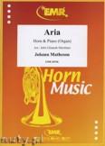 Ok�adka: Matheson Johann, Aria - Horn