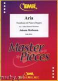 Okładka: Matheson Johann, Aria - Trombone
