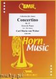 Okładka: Weber Carl Maria Von, Concertino Op. 45 - Horn