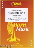Okładka: Mozart Wolfgang Amadeusz, Concerto N° 4 - Horn