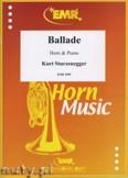 Okładka: Sturzenegger Kurt, Ballade - Horn