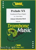 Okładka: Bach Johann Sebastian, Prelude XX BWV 865  - Trombone