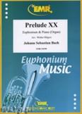 Okładka: Bach Johann Sebastian, Prelude XX BWV 865  - Euphonium