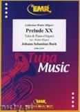 Okładka: Bach Johann Sebastian, Prelude XX BWV 865  - Tuba