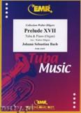 Okładka: Bach Johann Sebastian, Prelude XVII BWV 862  - Tuba