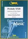Okładka: Bach Johann Sebastian, Prelude XXII BWV 867 - Euphonium