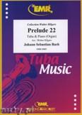 Okładka: Bach Johann Sebastian, Prelude XXII BWV 867  - Tuba