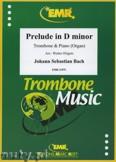 Ok�adka: Bach Johann Sebastian, Prelude D minor BWV 539  - Trombone