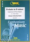 Okładka: Bach Johann Sebastian, Prelude D minor BWV 539  - Euphonium