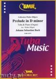 Ok�adka: Bach Johann Sebastian, Prelude D minor BWV 539  - Tuba