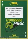 Okładka: Grunelius Wilhelm Von, Vier Lyrische Stücke - Trombone