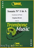 Okładka: Braun Stephan, Sonata Nr. 1 in A - Trombone