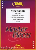 Okładka: Massenet Jules, Meditation from Thais - Trombone