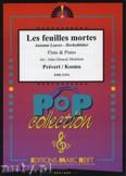 Okładka: Prevert J., Kosma Joseph, Les Feuilles Mortes - Flute