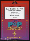 Ok�adka: Prevert J., Kosma Joseph, Les Feuilles Mortes - Flute