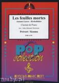 Ok�adka: Prevert J., Kosma Joseph, Les Feuilles Mortes - CLARINET