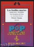 Okładka: Prevert J., Kosma Joseph, Les Feuilles Mortes - Saxophone