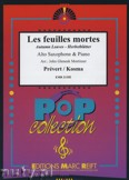 Ok�adka: Prevert J., Kosma Joseph, Les Feuilles Mortes - Saxophone