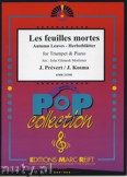Okładka: Prevert J., Kosma Joseph, Les Feuilles Mortes - Trumpet