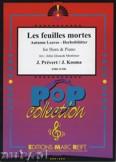 Okładka: Prevert J., Kosma Joseph, Les Feuilles Mortes - Horn