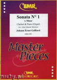 Ok�adka: Galliard Johann Ernst, Sonata N� 1 in A minor - CLARINET