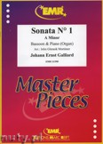 Ok�adka: Galliard Johann Ernst, Sonata N� 1 in A minor - BASSOON