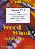 Okładka: Galliard Johann Ernst, Sonata N° 1 in A minor - Saxophone