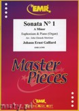 Ok�adka: Galliard Johann Ernst, Sonata N� 1 in A minor - Euphonium