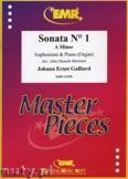 Okładka: Galliard Johann Ernst, Sonata N° 1 in A minor - Euphonium