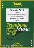 Ok�adka: Galliard Johann Ernst, Sonata N� 1 in A minor - Trombone