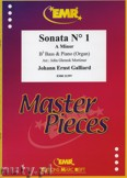 Ok�adka: Galliard Johann Ernst, Sonata N� 1 in A minor - Tuba