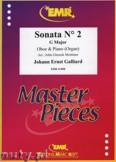 Okładka: Galliard Johann Ernst, Sonata N° 2 in G major - Oboe