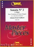 Ok�adka: Galliard Johann Ernst, Sonata N� 2 in G major - Trombone