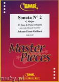Ok�adka: Galliard Johann Ernst, Sonata N� 2 in G major - Tuba