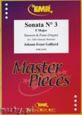 Ok�adka: Galliard Johann Ernst, Sonata N� 3 in F major - BASSOON