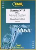 Okładka: Galliard Johann Ernst, Sonata N° 5 in D minor - Euphonium