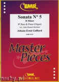 Ok�adka: Galliard Johann Ernst, Sonata N� 5 in D minor - Tuba