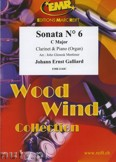 Ok�adka: Galliard Johann Ernst, Sonata N� 6 in C major - CLARINET