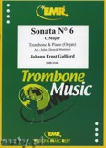Ok�adka: Galliard Johann Ernst, Sonata N� 6 in C major - Trombone