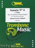 Ok�adka: Galliard Johann Ernst, Sonata N� 6 in C major - Trombone