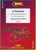 Ok�adka: Galliard Johann Ernst, 6 Sonatas - BASSOON