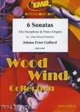 Okładka: Galliard Johann Ernst, 6 Sonatas - Saxophone