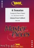 Okładka: Galliard Johann Ernst, 6 Sonatas - Trumpet
