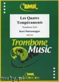 Okładka: Sturzenegger Kurt, Les Quatre Tempéraments - Trombone