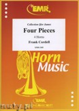 Okładka: Cordell Frank, Four Pieces - Horn