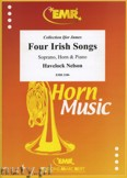 Okładka: Nelson Havelock, Four Irish Songs for Soprano, Horn and Piano