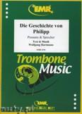 Okładka: Hartmann Wolfgang, Die Geschichte von Philipp für Posaune und Sprecher