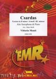 Okładka: Monti Vittorio, Csardas (version in D minor) - Saxophone
