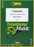 Ok�adka: Glauser Max, Canzona - Trombone