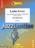 Okładka: Richards Scott, Latin Fever for Bass Trombone and Piano